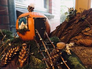 Wir begrüßen den goldenen Herbst