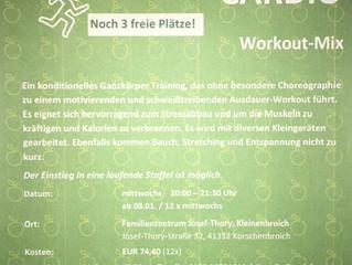Gesundheit und Fitness- Cardio Workout- Mix