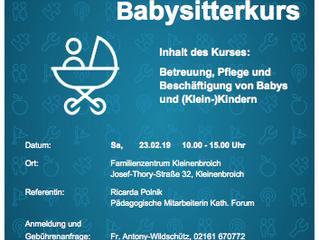 Babysitterkurs
