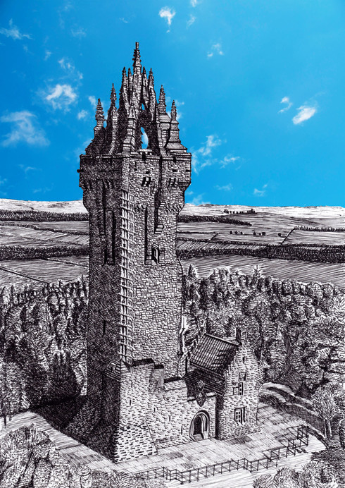 Wallace monument - daylight