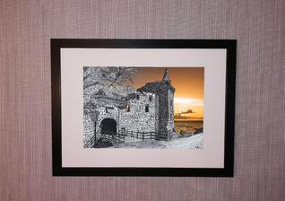 st andrews castle orange frame.jpg