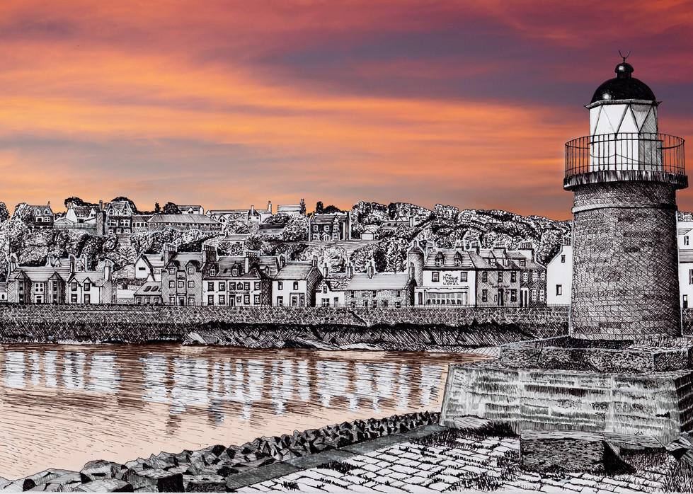 Portpatrick sunset