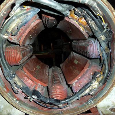 DC Motor for Rewinding Field Winding