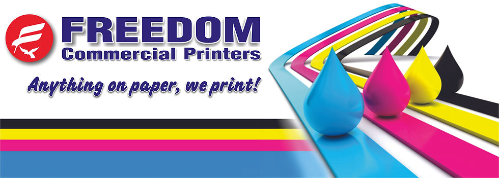 Printing Products and Services - Freedom Commercial Printers