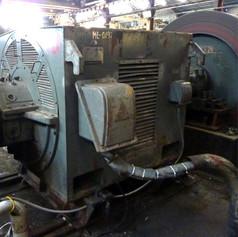 Large AC Motor Steel Mill