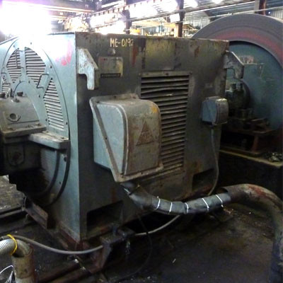 Large AC Motor Steel Mill