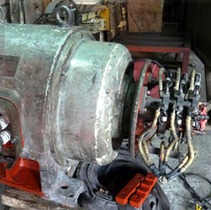 Large AC Variable Speed Motor