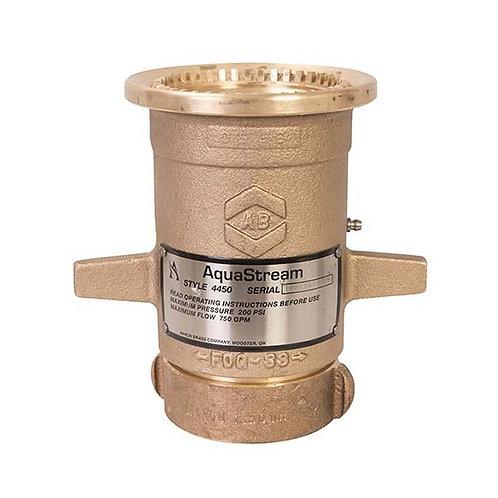 """Akron 4450/4452 2-1/2"""" Aquastream Master Stream Nozzle, Made in USA"""