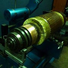 275hp DC Armature Rewind Dynamic Balancing