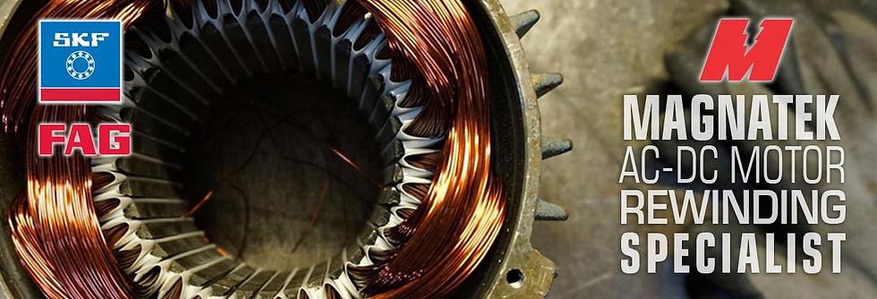 Magnatek AC-DC Motor Rewinding Specialist