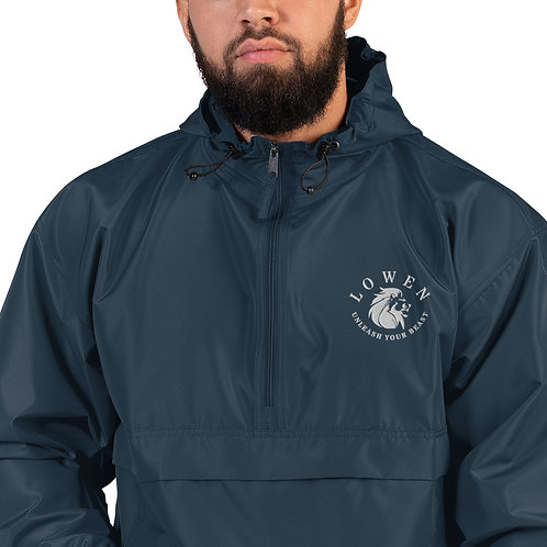 LOWEN Embroidered Champion Packable Jacket S-2XL