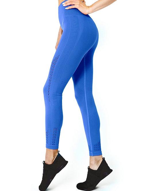 Shantay Mesh Seamless Legging - Blue