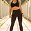 Thumbnail: Megan High Waisted Yoga Leggings - Black