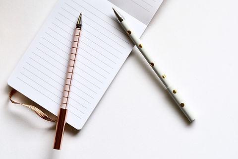 노트북에 두 펜