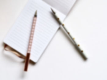 Two Pens on Notebook