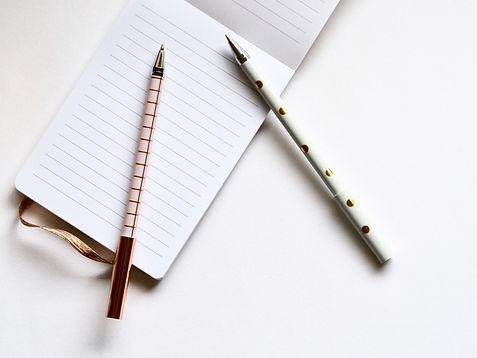 Virtual Assistant pens and paper