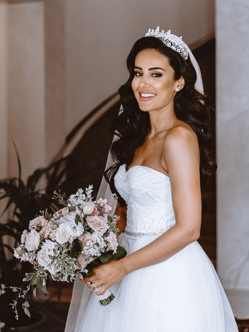 Mallorca wedding bride