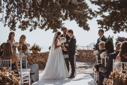 getting married outdoors in Spain