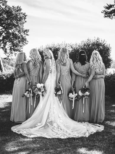 weddingdress from behind
