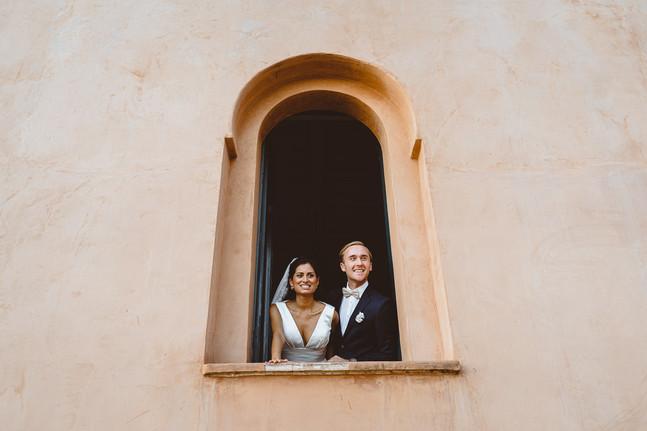 wedding couple i Spain