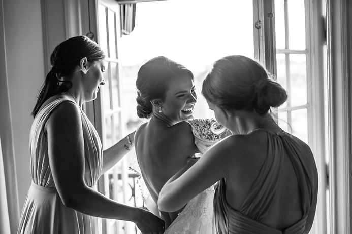 bridesmaids preparation