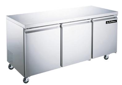 Refrigerador bajo barra 3 puertas   RBB-3P-SS-01