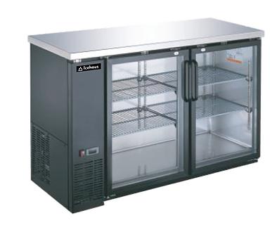 Refrigerador contra barra 2 puertas CBR-2P-SS-01