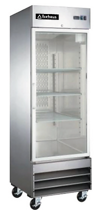 Refrigerador 1 puerta cristal  RV-1PC-SS-01