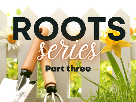 ROOTS (a series) -  part three