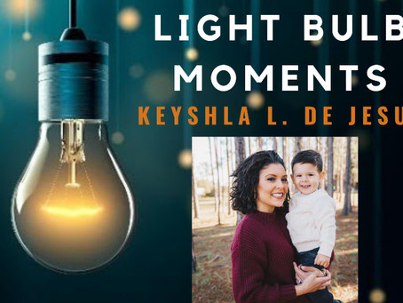 LIGHT BULB MOMENTS | Crownworks Creations