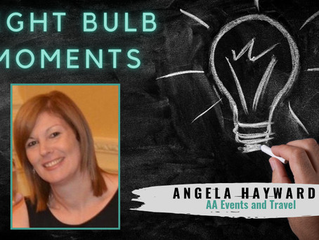 LIGHT BULB MOMENTS | AA Events and Travel