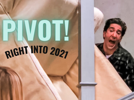 If there were ever a time to embrace the cliche #pivot culture, it's now