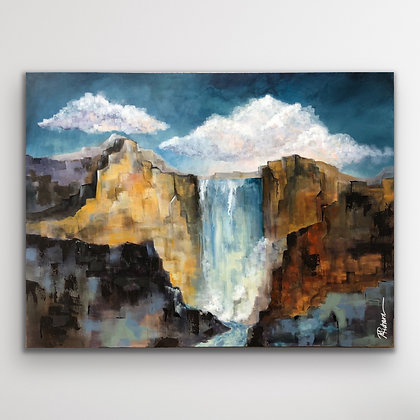 RIVENFALL  |  48X36""