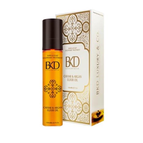 BKD ARGÁN ELIXIR cosmetic oil 4.05 fl. OZ Legendary Treatment Hair and Scalp