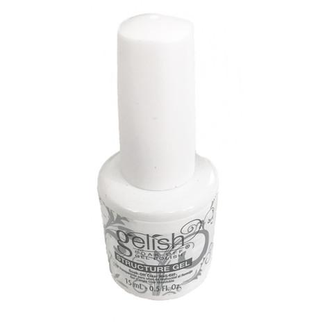 Nail Harmony Gelish UV Gel Polish Brush on Structure Gel Clear 0.5floz / 15ml