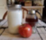 Homemade yogur, local honey, apple.jpg