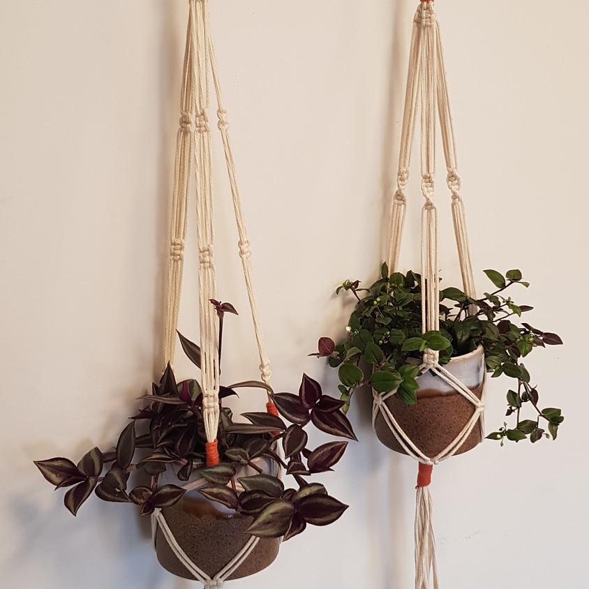 Macramé Hanging Planter Workshop
