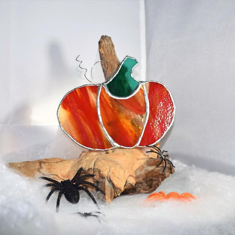 Copper Foil Glass Pumpkin Workshop
