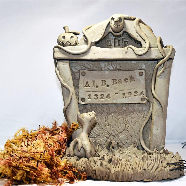 Halloween Ceramic Headstone Workshop