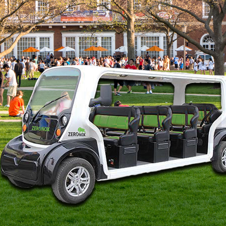 ELECTRIC CAMPUS TRANSPORT SHUTTLES