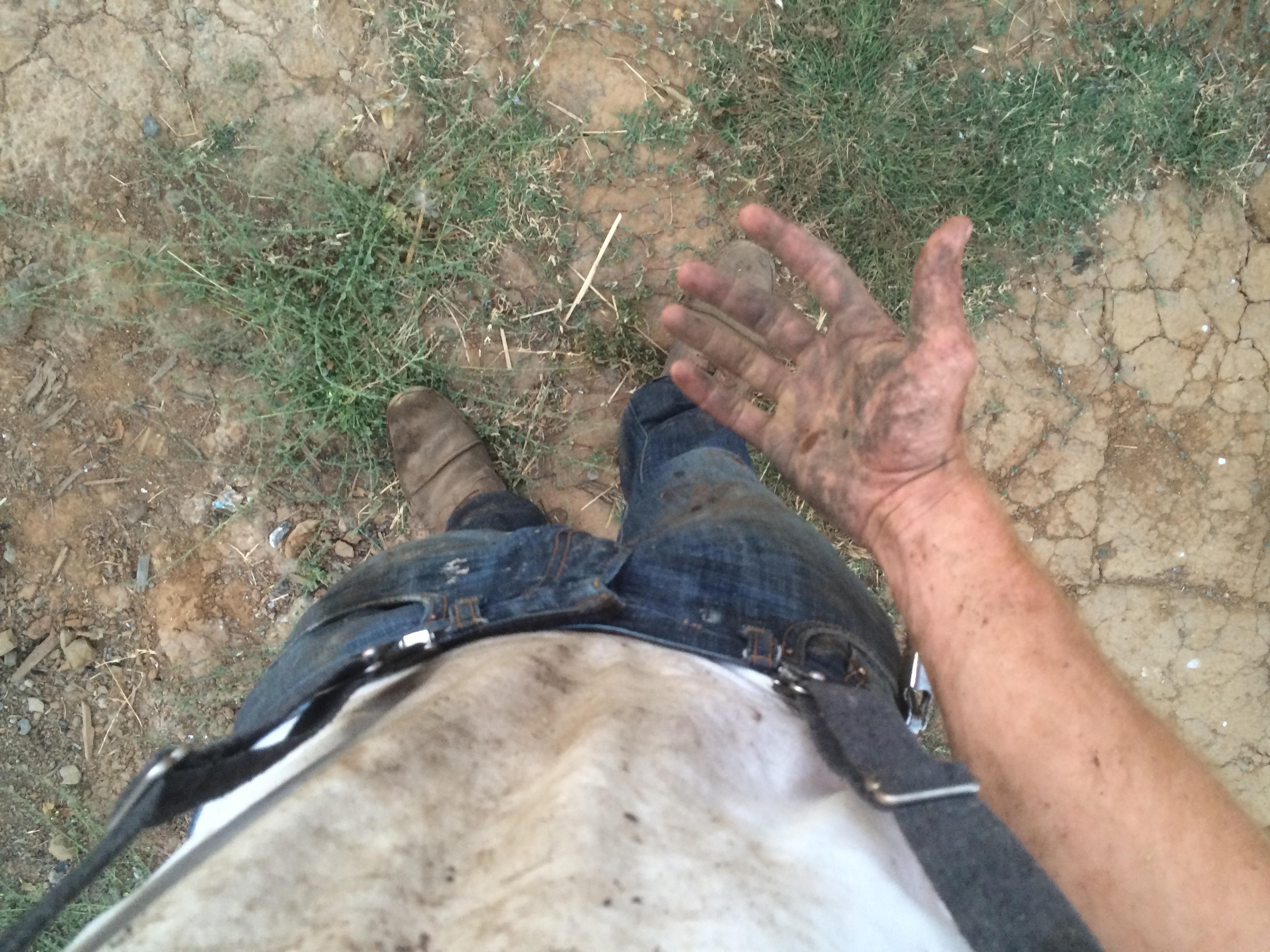 Farm Work = Dirty Work