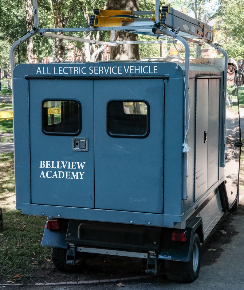 ELECTRIC SERVICE CARTS