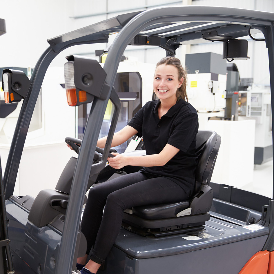 ELECTRIC SCHOOL FORKLIFTS