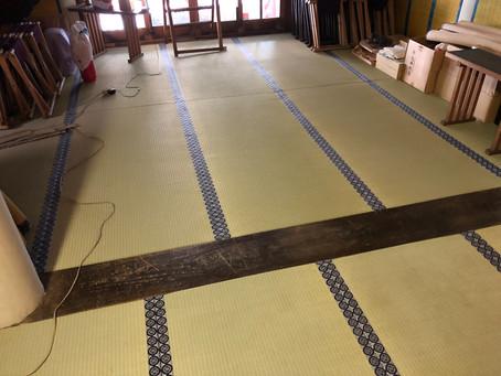 日本橋 椙森神社の畳の張り替え