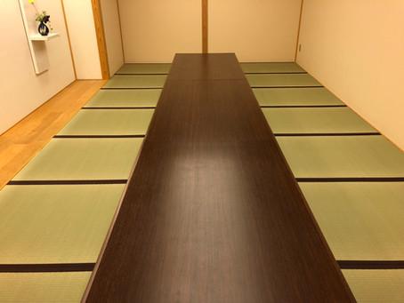 銀座東武ホテルB1むらき様和室の表替え。