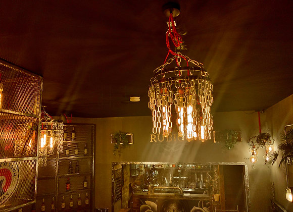 Chain chandelier smaller design