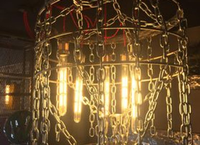 large chain chandelier