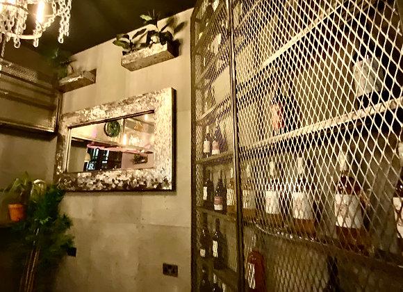 Wine Display cabinet steel frame