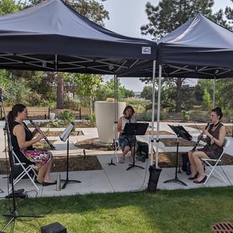 Outdoor Concert at Retirement Community Concert