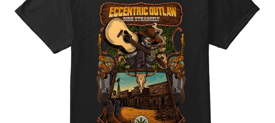 Eccentric Outlaw T-SHIRT